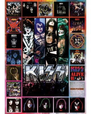 Puzzle Eurographics - KISS, The Album, 1000 piese (6000-5305)