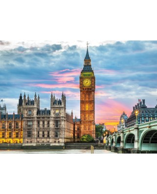 Puzzle Eurographics - London - Big Ben, 1.000 piese (6000-0764)