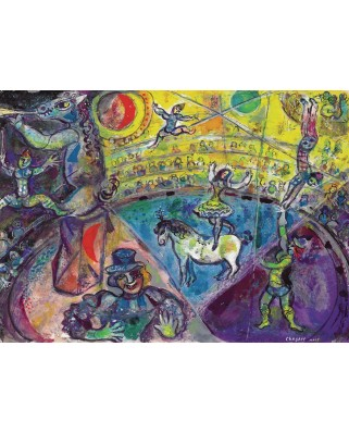 Puzzle Eurographics - Marc Chagall: The Circus Horse, 1.000 piese (6000-0851)