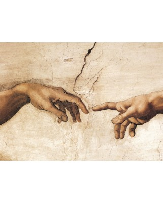 Puzzle Eurographics - Michelangelo Buonarroti: The Creation of Adam, 1.000 piese (6000-2016)