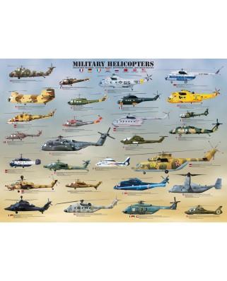 Puzzle Eurographics - Militarhubschrauber, 1.000 piese (6000-0088)