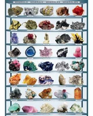 Puzzle Eurographics - Mineralien der Welt, 1.000 piese (6000-2008)