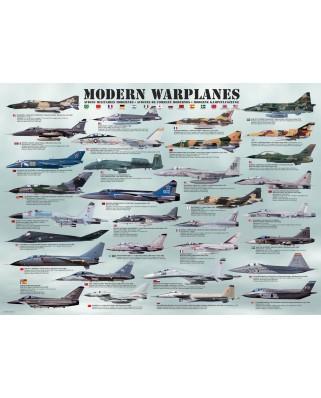 Puzzle Eurographics - Modern Warplanes, 1.000 piese (6000-0076)
