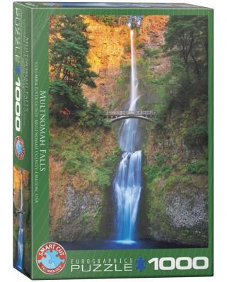 Puzzle Eurographics - Multnomah Watterfall - Oregon, 1000 piese (6000-0546)