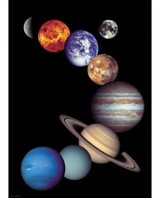 Puzzle Eurographics - Nasa Solar System, 1000 piese (6000-0100)