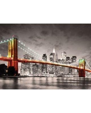 Puzzle Eurographics - New York City Brooklyn Bridge, 1.000 piese (6000-0662)