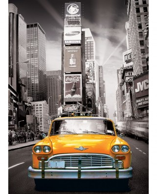 Puzzle Eurographics - New York Yellow Cab, 1.000 piese (6000-0657)
