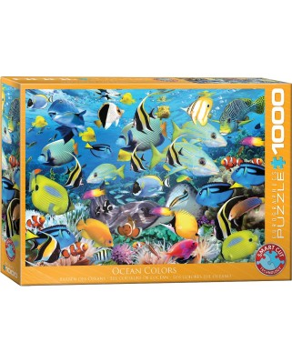 Puzzle Eurographics - Ocean Colors by Howard Robinson, 1000 piese (6000-0625)