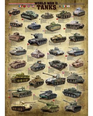 Puzzle Eurographics - Panzer des zweiten Weltkrieges, 1000 piese (6000-0388)