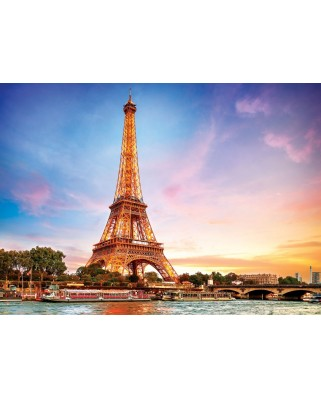 Puzzle Eurographics - Paris Eiffel Tower, 1.000 piese (6000-0765)