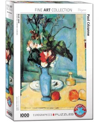 Puzzle Eurographics - Paul Cezanne: Die Blaue Vase (Detail), 1000 piese (6000-3802)