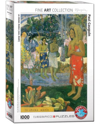Puzzle Eurographics - Paul Gauguin: La Orana Maria, 1000 piese (6000-0835)