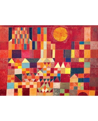 Puzzle Eurographics - Paul Klee: Castle and Sun, 1.000 piese (6000-0836)