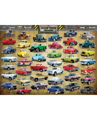 Puzzle Eurographics - Pick Up Evolution, 1.000 piese (6000-0681)