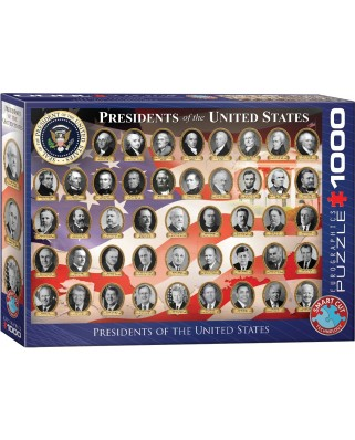 Puzzle Eurographics - Presidents of the USA, 1000 piese (6000-1432)