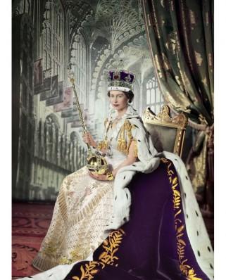 Puzzle Eurographics - Queen Elizabeth II, 1000 piese (6000-0919)