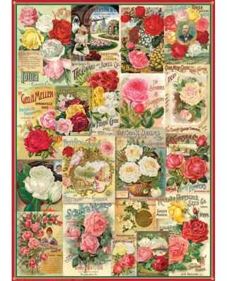 Puzzle Eurographics - Roses Seed Catalogue, 1.000 piese (6000-0810)