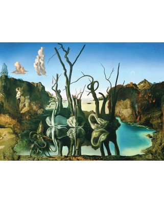 Puzzle Eurographics - Salvador Dali: Swans Reflecting Elephants, 1000 piese (6000-0846)