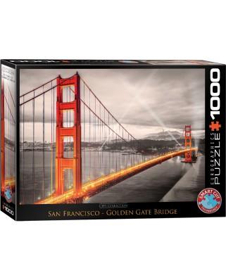 Puzzle Eurographics - San Francisco Golden Gate Bridge, 1000 piese (6000-0663)