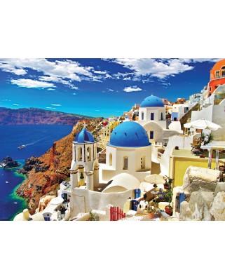 Puzzle Eurographics - Santorini, 1.000 piese (6000-0944)