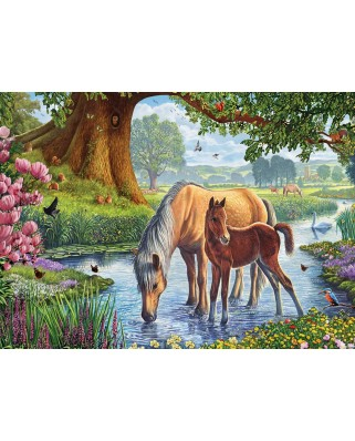 Puzzle Eurographics - Steve Crisp: The Fell Ponies, 1.000 piese (6000-0976)
