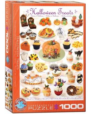 Puzzle Eurographics - Sussigkeiten zu Halloween, 1000 piese (6000-0432)