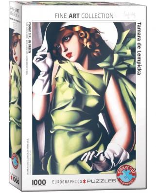 Puzzle Eurographics - Tamara De Lempicka: Tamara De Lempicka, 1000 piese (6000-1058)
