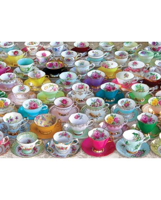Puzzle Eurographics - Tea Cups, 1.000 piese (6000-5314)