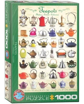 Puzzle Eurographics - Teekannen, 1000 piese (6000-0599)