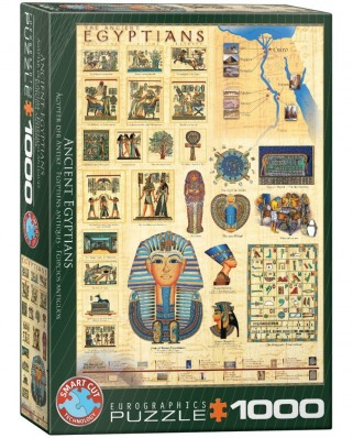 Puzzle Eurographics - The Ancient Egyptians, 1000 piese (6000-0083)