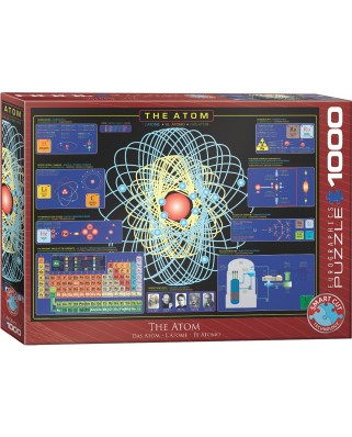 Puzzle Eurographics - The Atom, 1000 piese (6000-1002)