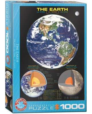 Puzzle Eurographics - The Earth, 1000 piese (6000-1003)