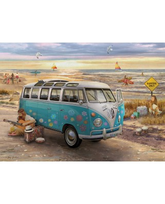 Puzzle Eurographics - The Love & Hope VW Bus, 1.000 piese (6000-5310)