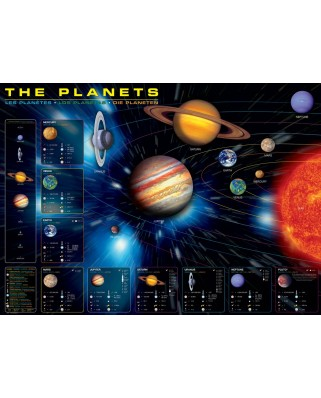 Puzzle Eurographics - The Planets, 1000 piese (6000-1009)