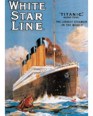 Puzzle Eurographics - Titanic, 1.000 piese (6000-1333)