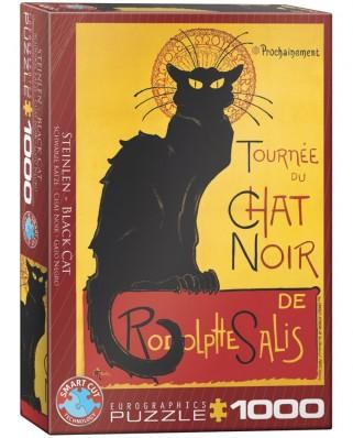 Puzzle Eurographics - Tournee du Chat Noir, 1000 piese (6000-1399)