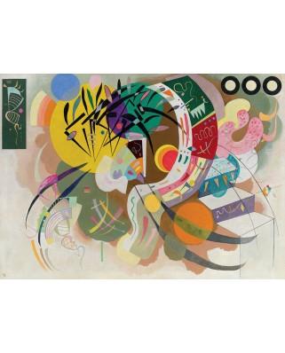 Puzzle Eurographics - Vassily Kandinsky: Dominant Curve, 1000 piese (6000-0839)