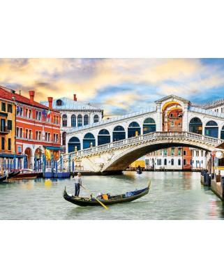 Puzzle Eurographics - Venice - Rialto Bridge, 1.000 piese (6000-0766)