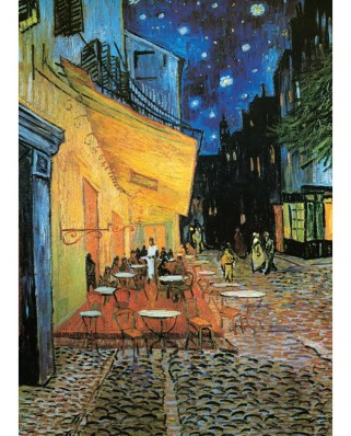 Puzzle Eurographics - Vincent Van Gogh: Cafe Terrace at Night, 1000 piese (6000-2143)
