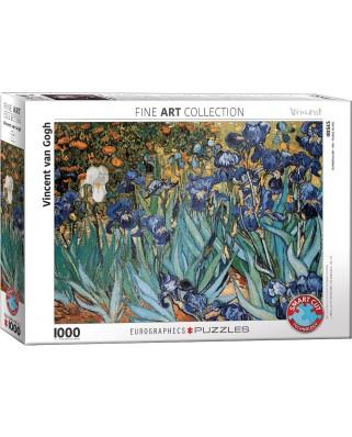 Puzzle Eurographics - Vincent Van Gogh: Irises, 1000 piese (6000-4364)