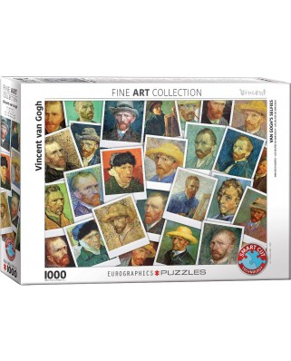 Puzzle Eurographics - Vincent Van Gogh: Selfies, 1000 piese (6000-5308)