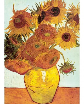 Puzzle Eurographics - Vincent Van Gogh: Summer Flowers, 1903, 1000 piese (6000-3688)