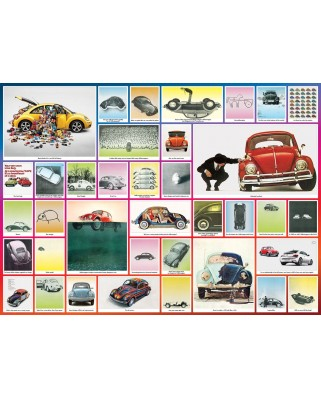 Puzzle Eurographics - VW Beetle - We've done things, 1.000 piese (6000-0800)