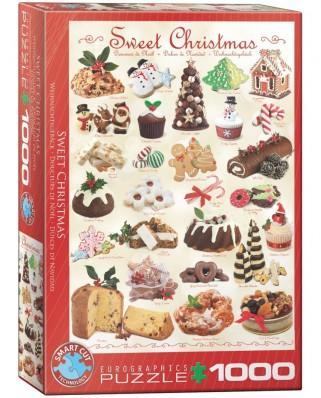 Puzzle Eurographics - Weihnachtseinladung, 1000 piese (6000-0433)