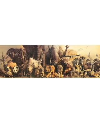 Puzzle panoramic Eurographics - Haruo Takino: Noah's Ark, 1.000 piese (6010-4654)