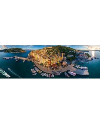 Puzzle panoramic Eurographics - Porto Venere, 1.000 piese (6010-5302)