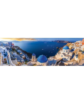 Puzzle panoramic Eurographics - Santorini, 1.000 piese (6010-5300)