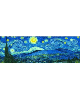 Puzzle panoramic Eurographics - Vincent Van Gogh: Starry Night, 1.000 piese (6010-5309)
