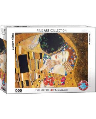 Puzzle Eurographics - Gustav Klimt: The Kiss, 1000 piese (6000-0142)