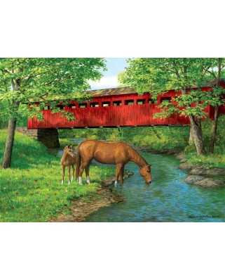 Puzzle Eurographics - Sweet Water Bridge, 1.000 piese (6000-0834)